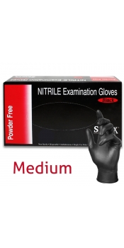 Nitril Tattoo Glove, Powder-Free, Latex Free - Medium