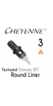 Cheyenne Cartridge -3 Bugpin Round Liner- 10 Pack