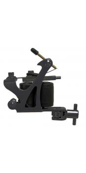 C-CLASS Basic Steel Tattoo Machine Black w/8Wrap Coils