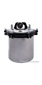 Tattoo Autoclave Steam Sterilizer 4.7 Gallon (18 Liter) Steam Autoclave Sterilizer Tattoo Dental Commercial Unit New