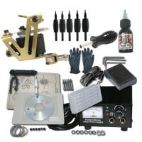 1 Machine Apprentice Tattoo Kit with Power Supply & Radiant Ink
