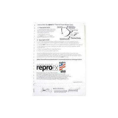 100 Sheets SPIRIT Stencil Paper for Tattoo Thermal Copiers Made in USA [New Package]